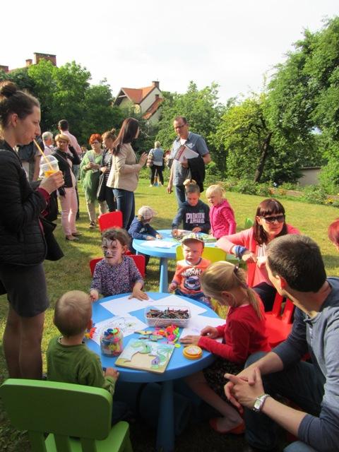 Festyn w ogrodzie Ojców Kapucynów 2015
