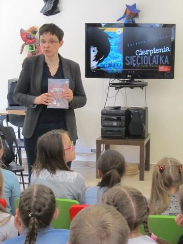 Spotkanie literacko-plastyczne z Zuzanną Orlińską