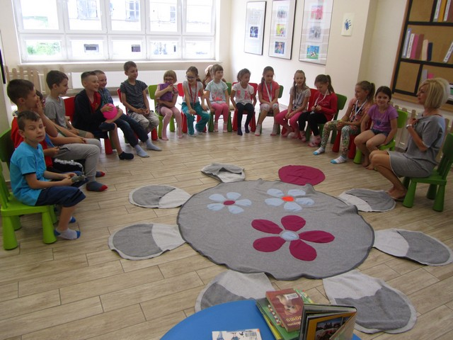 """Lekcje tematyczne """"Ksiażki pełne barw"""" – czerwiec 2017"""