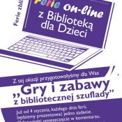 """Ferie on-line z Biblioteką"" cd."