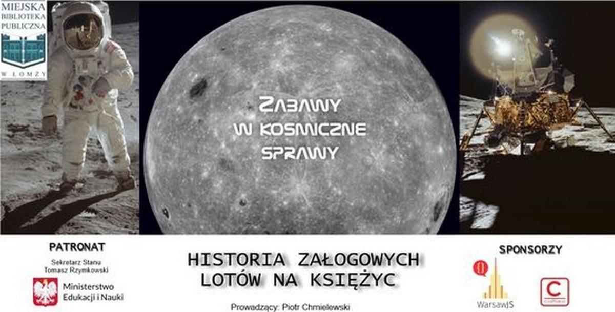 """""""Historia załogowych lotów na Księżyc"""" – fotorelacja"""