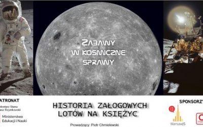 """""""Historia załogowych lotów na Księżyc"""""""